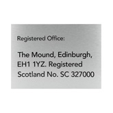 Registered Office Signs