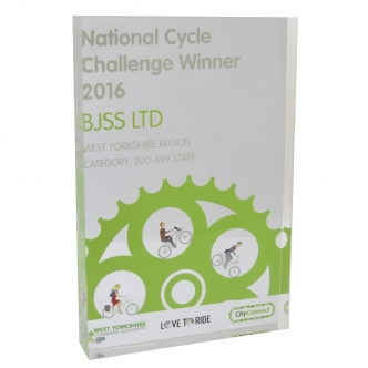 National cycle perspex award