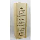 graduation wine box