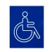 accesible toilet sign.
