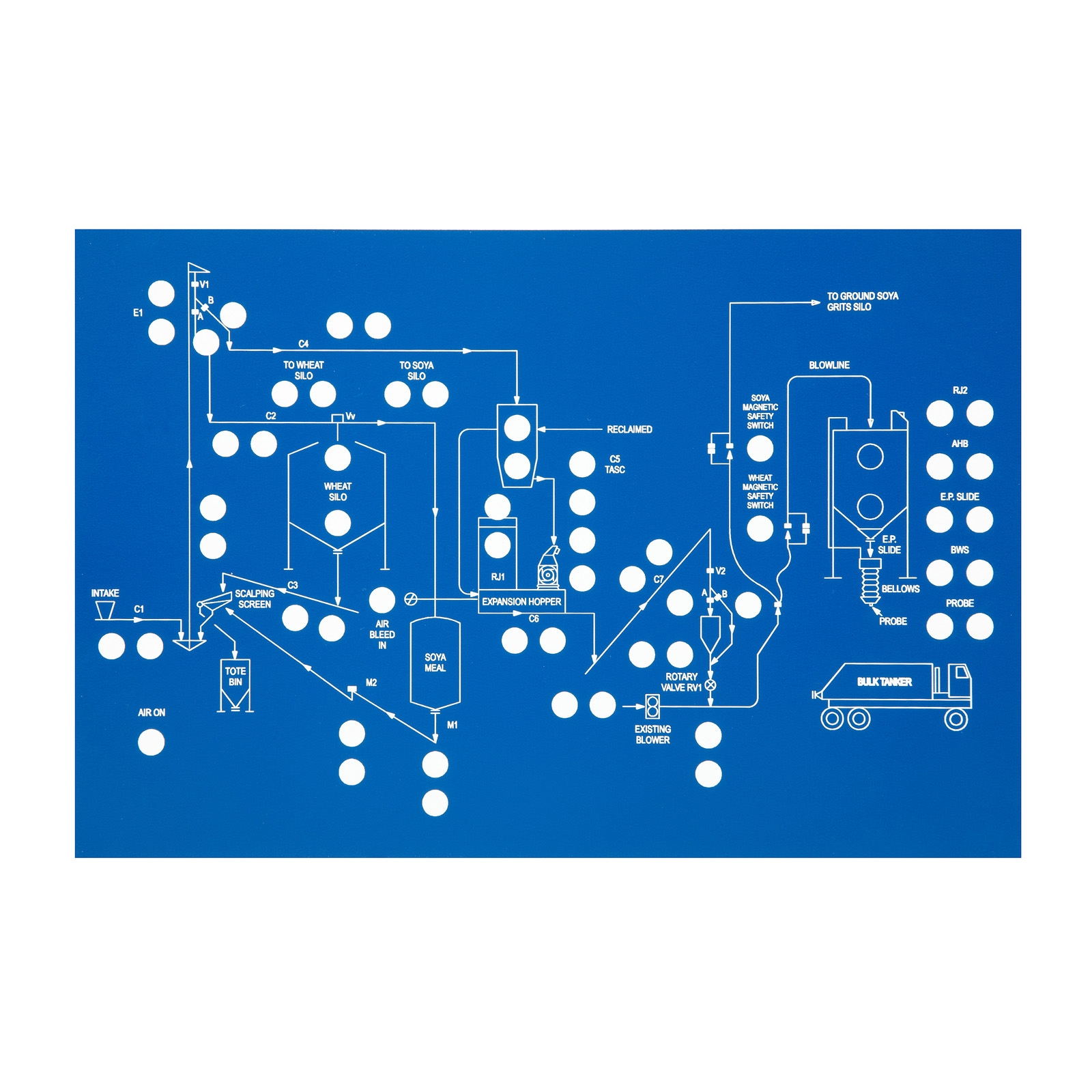 Control Panels  Mimic And Schematic Diagrams Using Graphic Symbols For Intricate Designs